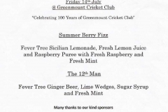 14/7/17 - D-CaFF: Celebrating 150 Years of Greenmount Cricket Club